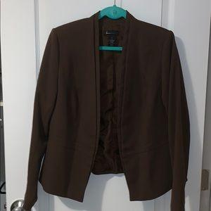 Lane Bryant brown blazer